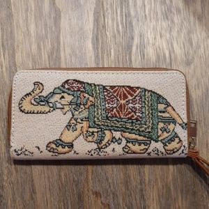 Tapestry elaphant wallet